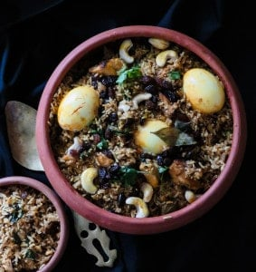 easy pot biryani, srilankan recipes and family food-islandsmile.org