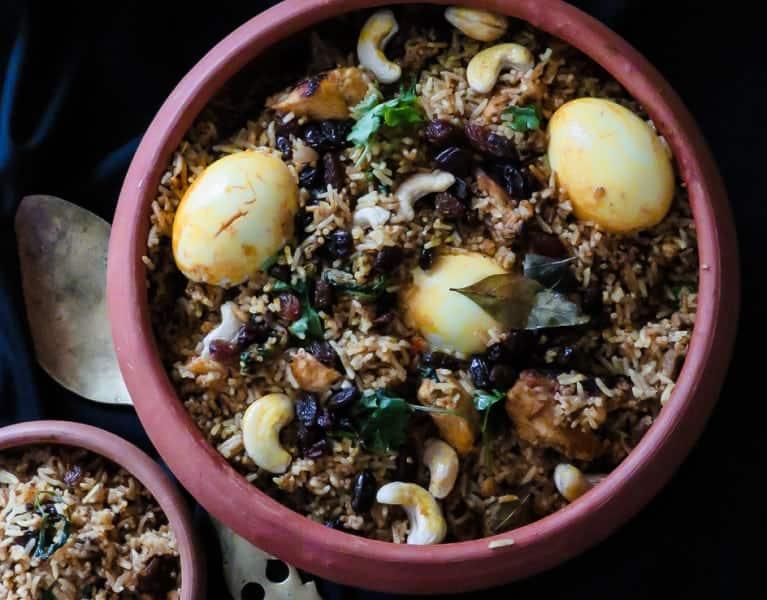 easy pot biryani, srilankan recipes and family food-islandsmile.org