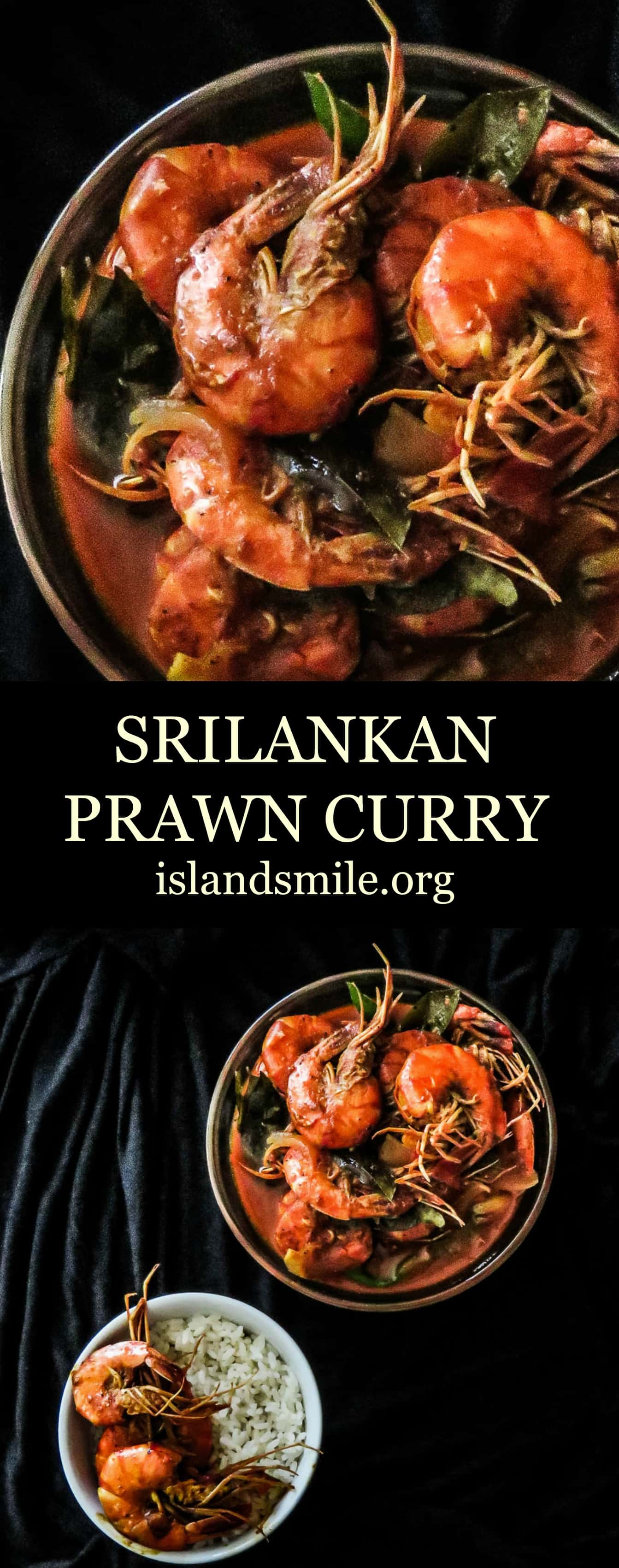 Srilankan prawn curry