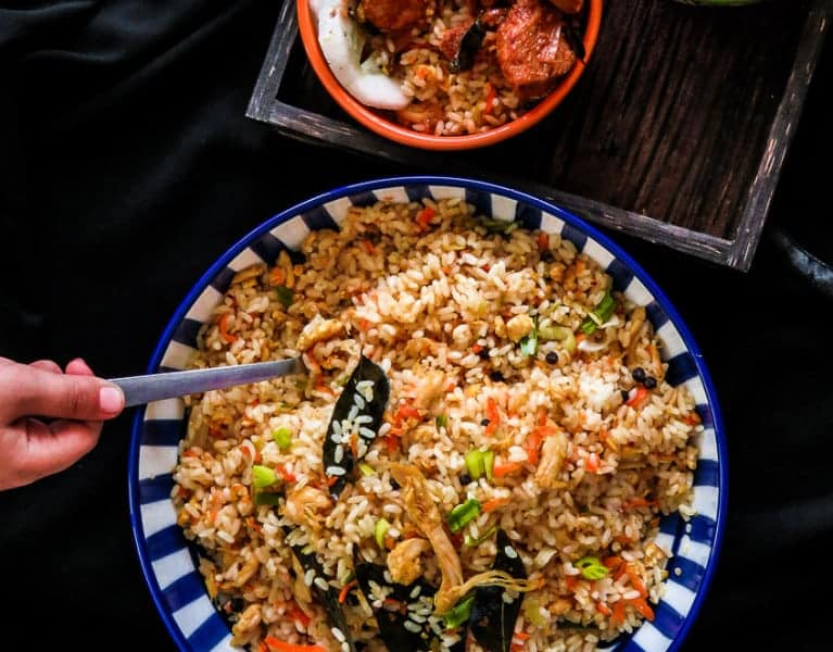 Asian style chicke and vegetable fried rice in a hurry-islandsmile.org-4838-2