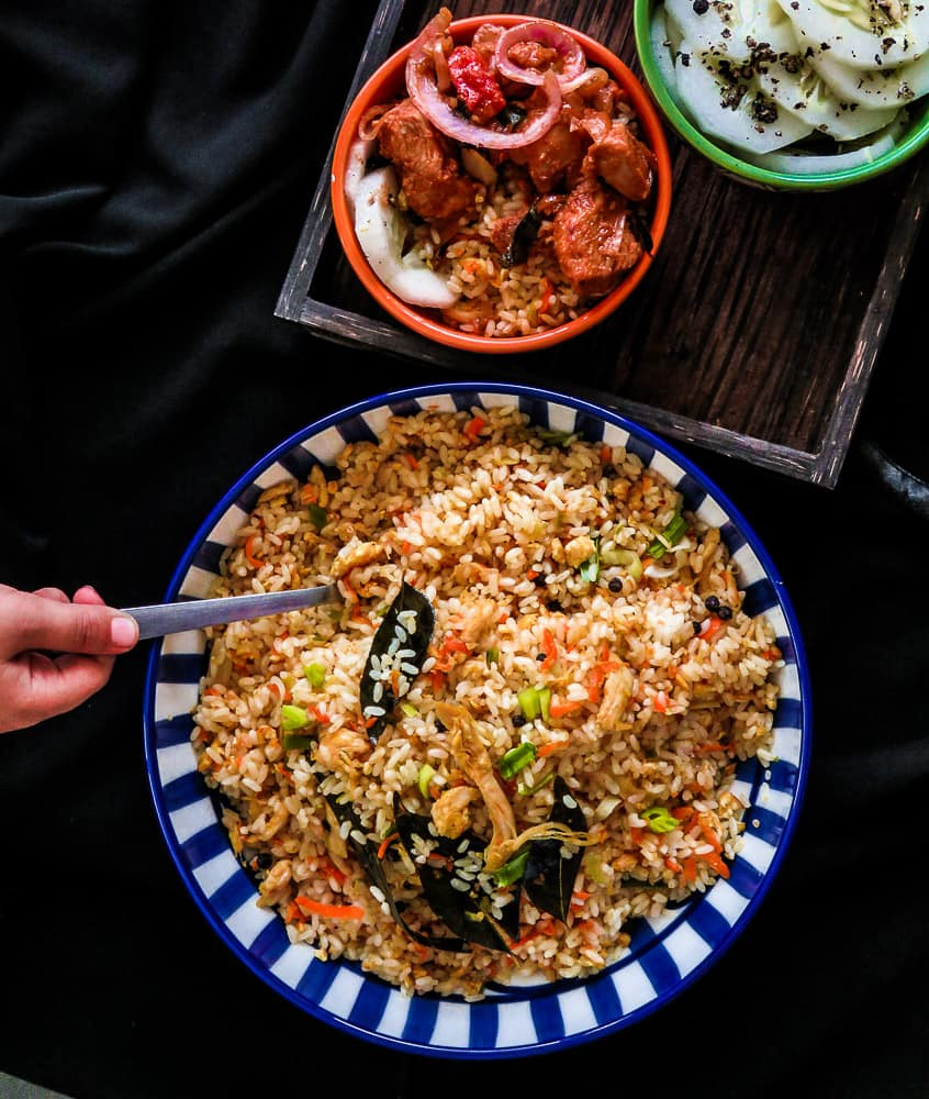 Asian style chicken and vegetable fried rice in a hurry-islandsmile.org