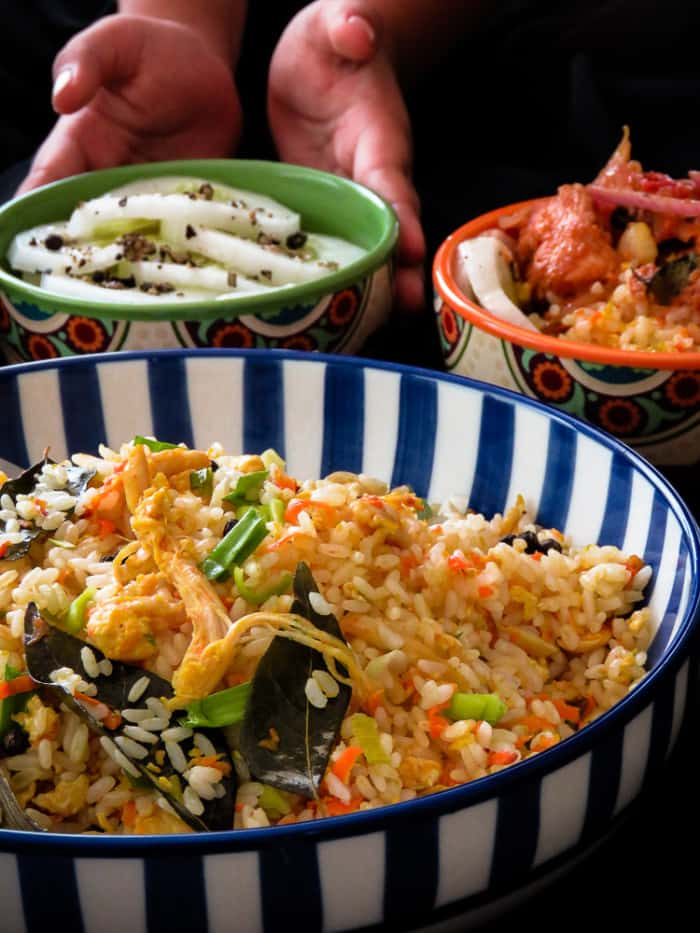asian style chicke and vegetable fried rice in a hurry-islandsmile.org