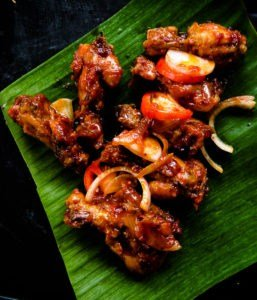 pan fried spicy chicken wings(devilled)-islandsmile.org