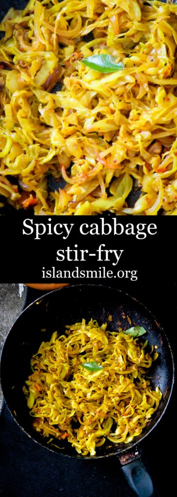 Spicy chilli cabbage stir-fry image