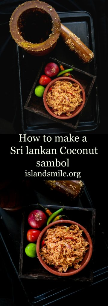 how to make a sri lankan coconut sambol image