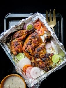 How to make Tandoori chicken at home(oven baked)-islandsmile.org
