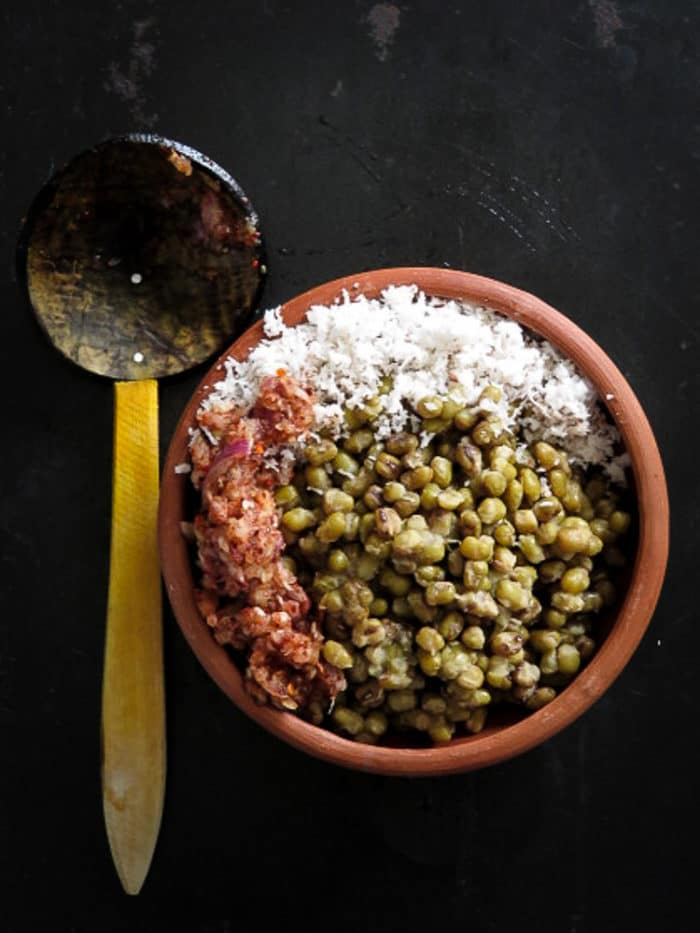 Green mung bean breakfast bowl-islandsmile.org