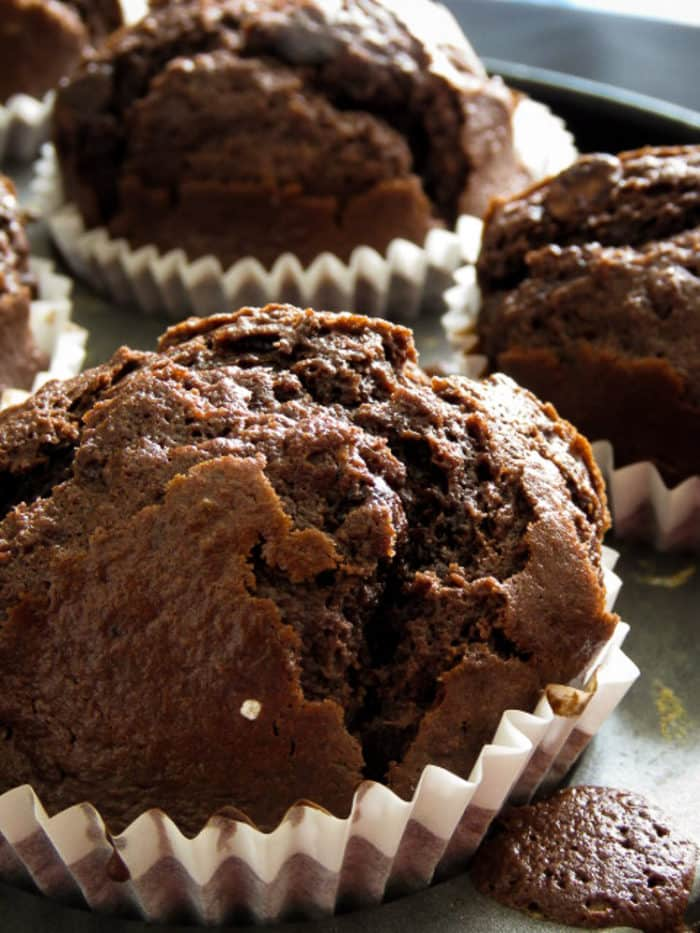 chocolate chocolate muffins-islandsmile.org