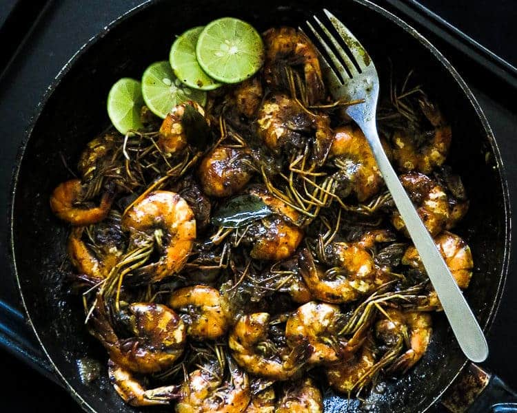 spicy black pepper prawn curry-islandsmile.org