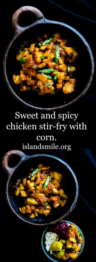 sweet and spicy stir-fry with corn-islandsmile.org