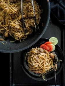 30 minute- take out style spicy asian noodles