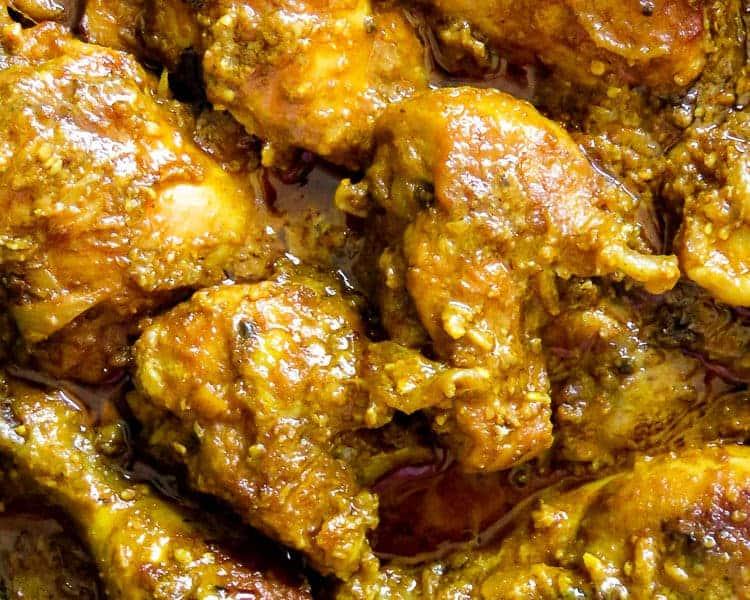 Hyderabadi chicken with Sesame -peanut based gravy- islandsmile.org