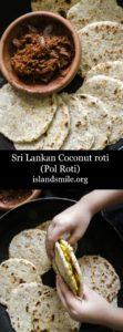 Sri lankan coconut roti(pol roti)-islandsmile.org