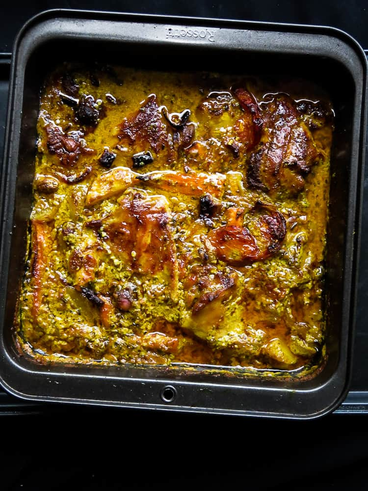 oven baked one pot lemon grass chicken curry-islandsmile.org