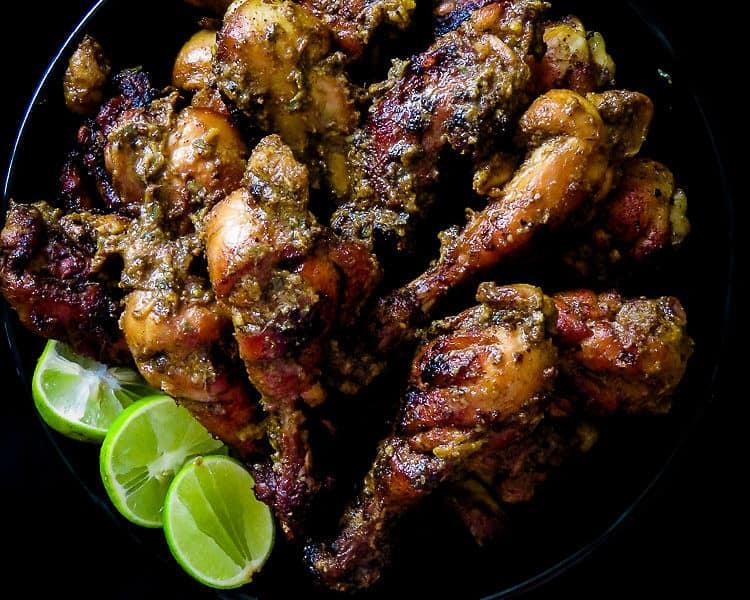 deep fried spicy drumsticks-islandsmile.org