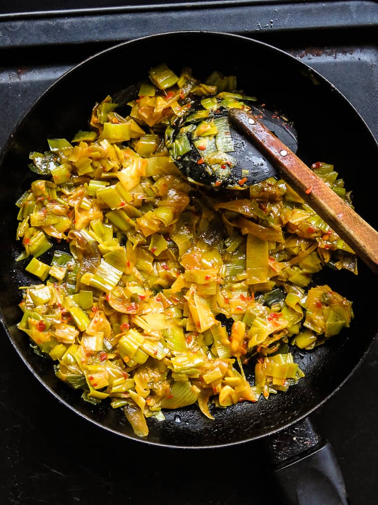 tempered leeks curry(sri lankan)-islandsmile.org