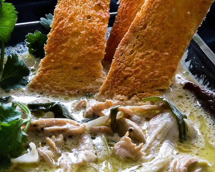 creamy, fragrant chicken soup-islandsmile.org